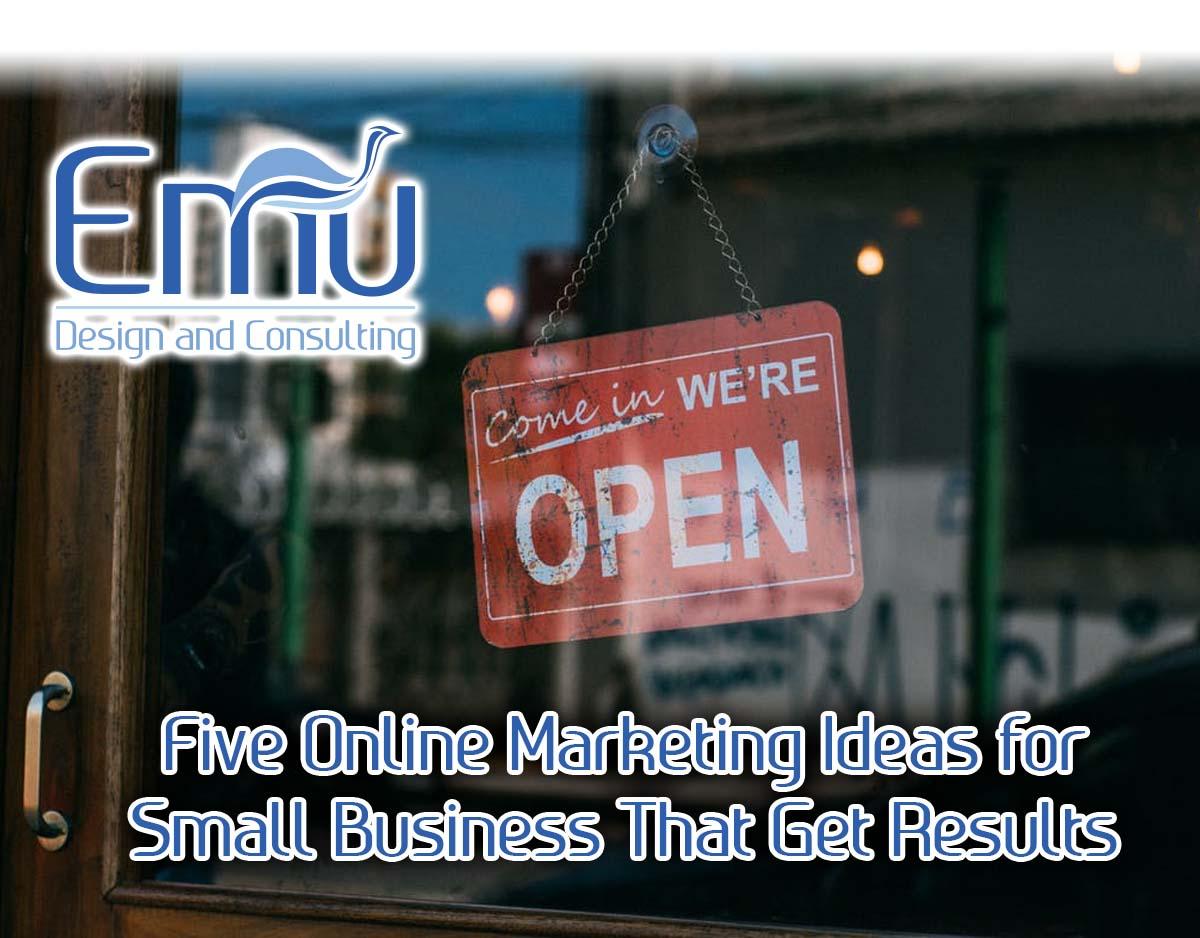 market your business online